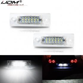 IJDM Lampu LED Plat Nomor Plate Light Lamp 18 LED 12V - CPL2020 - White