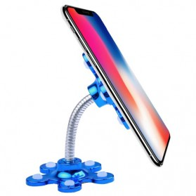 Kebidumei Stand Car Holder Smartphone Magic Suction - KB360 - Blue