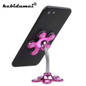 Kebidumei Stand Car Holder Smartphone Magic Suction - KB360 - Blue - 3