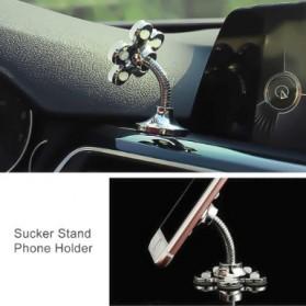 Kebidumei Stand Car Holder Smartphone Magic Suction - KB360 - Blue - 4