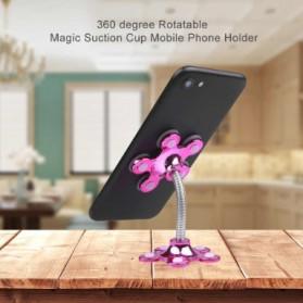 Kebidumei Stand Car Holder Smartphone Magic Suction - KB360 - Blue - 6