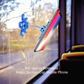 Kebidumei Stand Car Holder Smartphone Magic Suction - KB360 - Blue - 7