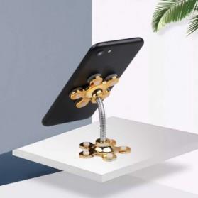 Kebidumei Stand Car Holder Smartphone Magic Suction - KB360 - Blue - 8