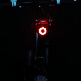 Enfitnix XLite 100 Lampu Sepeda Smart LED Taillight Seatpost Mount - Black - 3