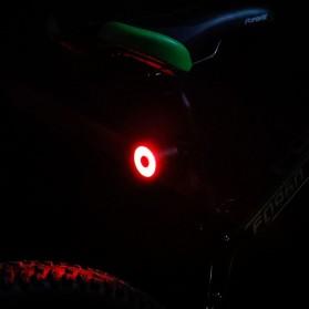 Enfitnix XLite 100 Lampu Sepeda Smart LED Taillight Seatpost Mount - Black - 4