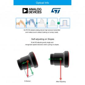 Enfitnix XLite 100 Lampu Sepeda Smart LED Taillight Seatpost Mount - Black - 6