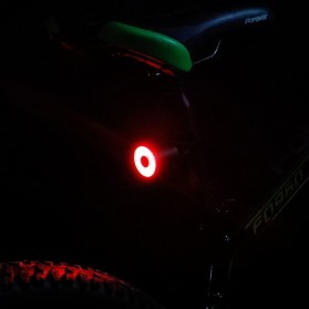 Enfitnix XLite 100 Lampu Sepeda Smart LED Taillight Saddle Mount - Black - 7