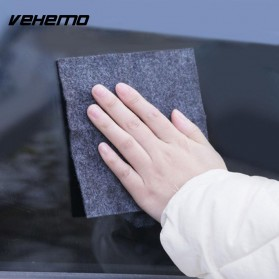 Vehemo Amplas Body Mobil Fix Clear Car Scratch Polish Cloth 20x10 cm - 056 - Gray