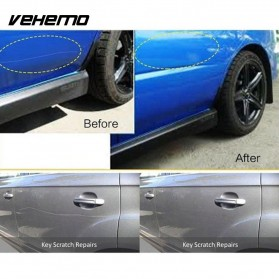 Vehemo Amplas Body Mobil Fix Clear Car Scratch Polish Cloth 20x10 cm - 056 - Gray - 5