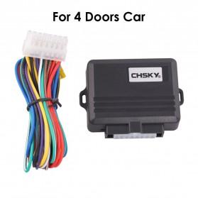 CHSKY Module Controls Power Windows Auto Up Kaca Mobil 12V - NQ-4W - Black - 2