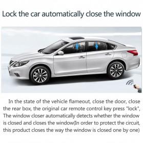 CHSKY Module Controls Power Windows Auto Up Kaca Mobil 12V - NQ-4W - Black - 5