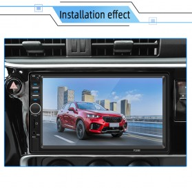 ANENG Android Tape Audio Mobil MP5 Media Player Monitor LCD 7 Inch FM Radio Bluetooth 4.0 - 7018B - Black - 9