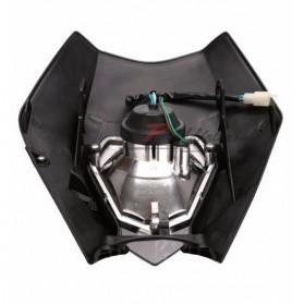 POWERZONE Lampu Pengganti Motorcycle Headlight Headlamp H4 12V 35W For 2017 18 KTM - HF001 - Black - 2