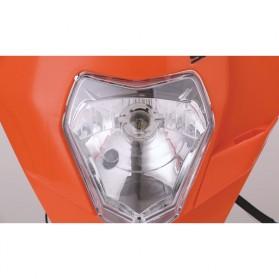 POWERZONE Lampu Pengganti Motorcycle Headlight Headlamp H4 12V 35W For 2017 18 KTM - HF001 - Black - 5