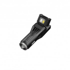 Nitecore USB Car Charger 1 Port QC3.0 with Emergency LED Light + Glass Breaker - VCL10 - Black - 2