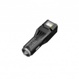 Nitecore USB Car Charger 1 Port QC3.0 with Emergency LED Light + Glass Breaker - VCL10 - Black - 5