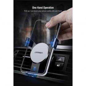 UGREEN Car Holder Smartphone Mobil Gravity Reaction - Black - 3