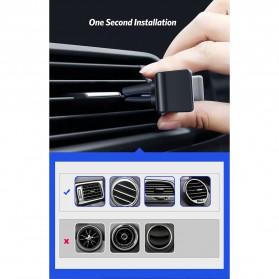 UGREEN Car Holder Smartphone Mobil Air Vent Both Stretch -  LP-120 - Black - 9
