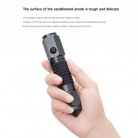 Xiaomi Youpin LEAO Senter LED Flashlight Safety Glass Breaker Hammer Cree XP-E2 - Black - 3
