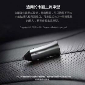 Xiaomi Mi Car Charger Dual USB QC3.0 18W - CC05ZM - Silver - 9
