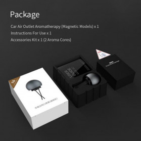 Xiaomi Guildford Parfum Mobil Car Air Vent Clip Aroma Sticks - Black - 6