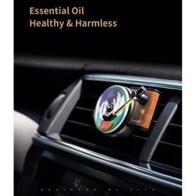Xiaomi Youpin TITA Parfum Mobil Car Fragrance Aromatherapy Turntable with 3 PCS Tablets - DSHJ-B-1902 - Black - 7