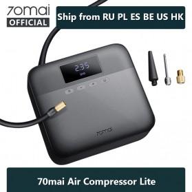 Xiaomi 70mai Midrive Pompa Ban Mobil Car Air Compressor Lite 12V - TP03 - Black - 2