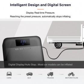 Xiaomi 70mai Midrive Pompa Ban Mobil Car Air Compressor Lite 12V - TP03 - Black - 4