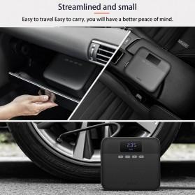 Xiaomi 70mai Midrive Pompa Ban Mobil Car Air Compressor Lite 12V - TP03 - Black - 7