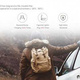 Xiaomi Mijia Smartmi Car Charger Inverter Universal Plug Power 100W 3A - CZNBQ01ZM - White - 3