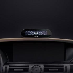 Xiaomi 70mai Midrive Monitoring Tekanan Ban Mobil Wireless Real Time TPMS Solar Power Internal Sensor- T01 - Black - 4