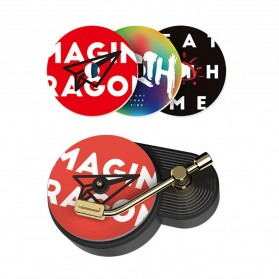 BCase TITA Parfum Mobil Car Fragrance Aromatherapy Turntable Plastic Style with 3 PCS Tablets - DSHJ-B-005 - Black