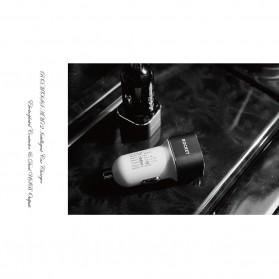 Romoss Car Charger Smartphone Mobil 2 Port 2.4A - AM12 - Black - 4