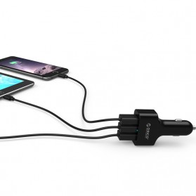 Orico USB Car Charger 3 Port with Qualcomm Quick Charge 2.0 - UCH-2U1Q - White - 7