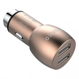 Orico Car Charger Dual USB - UCM-2U - Golden