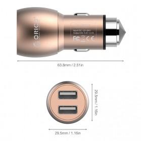 Orico Car Charger Dual USB - UCM-2U - Golden - 4