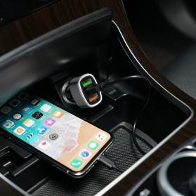 Orico Car Charger 3 USB Port 3A QC3.0 - UPB-3U - Gray - 4