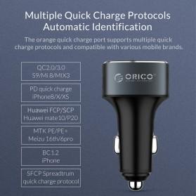 Orico Car Charger 3 USB Port 3A QC3.0 - UPB-3U - Gray - 8