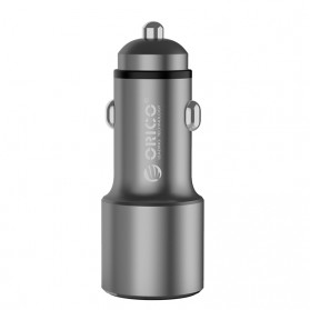 Orico Car Charger Dual USB Port 2.1A - UPJ-2U - Gray