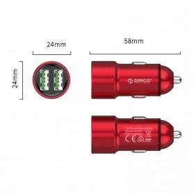 Orico Car Charger Dual USB Port 2.1A - UPM-2U - Gray - 4