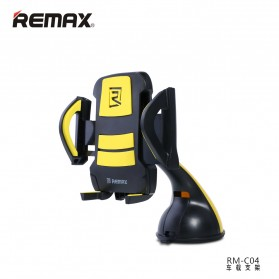 Remax Car Suction Cup Smartphone Holder - RM-C04 - Gray/White - 2