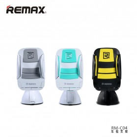 Remax Car Suction Cup Smartphone Holder - RM-C04 - Gray/White - 3