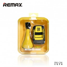 Remax Car Suction Cup Smartphone Holder - RM-C04 - Gray/White - 4
