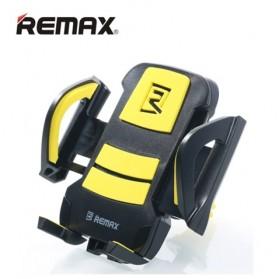 Remax Air Vent Smartphone Holder - RM-C13 - Black/Yellow - 1