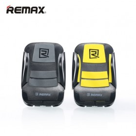Remax Air Vent Smartphone Holder - RM-C13 - Black/Yellow - 2