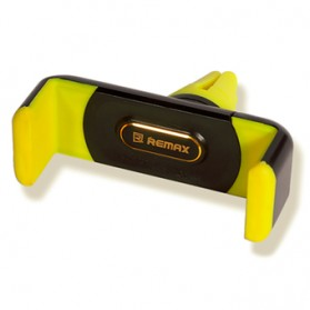 Remax Car Air Vent Smartphone Holder - RM-C01 - Black/Yellow