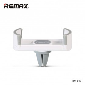 Remax Air Vent Universal Car Holder for Smartphone - RM-C17 - Gray/White