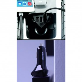 Remax Charger Mobil Aliens Series Car Charger 3 USB 4.2A - RC-C304 - Black - 6