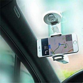 Remax Dashboard Universal Car Holder for Smartphone - RM-C23 - White/Silver - 2