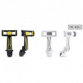 Remax Air Vent Universal Car Holder for Smartphone - RM-C24 - Black/Yellow - 7